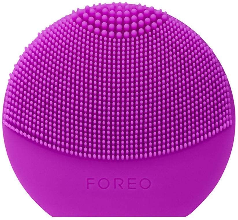 Щеточка для очистки лица и спа-массажа - Foreo Luna Play Plus Purple