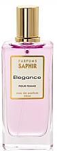 Духи, Парфюмерия, косметика Saphir Parfums Elegance - Парфюмированная вода (тестер с крышечкой)