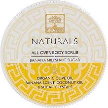 """Духи, Парфюмерия, косметика Скраб для тела """"Очищение и сияние. Банановый молочный коктейль"""" - BIOselect Naturals Body Scrub"""