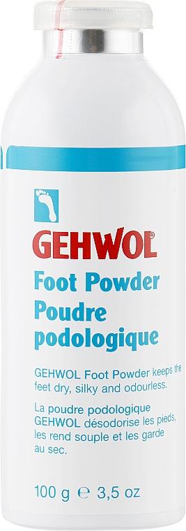 Пудра для ног - Gehwol Fuss-puder