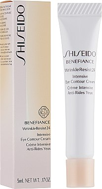 Интенсивный крем против морщин вокруг глаз - Shiseido Benefiance WrinkleResist24 Intensive Eye Contour Cream (мини)