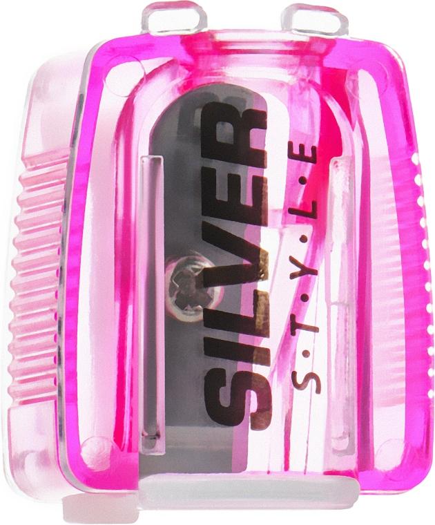 Точилка для карандашей, розовая - Silver Style