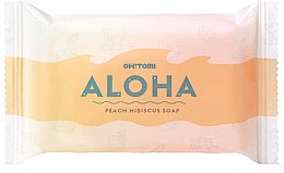 Духи, Парфюмерия, косметика Натуральное мыло - Oh!Tomi Aloha Peach Hibiscus Soap
