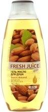 "Гель-масло для душа ""Сладкий миндаль"" - Fresh Juice Oils Sweet Almond — фото N1"