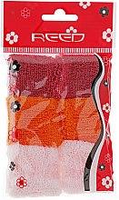 Духи, Парфюмерия, косметика Набор резинок для волос, 7581, 6шт, бордовый + оранжевый + светло-розовый - Reed