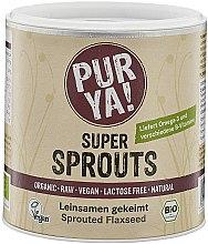 Духи, Парфюмерия, косметика Органический порошок льняного семени - Purya Super Sprouts Sprouted Flaxseed
