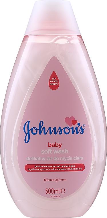 """Гель для купания """"Мягкое очищение"""" - Johnson's® Baby Soft Wash Gel"""