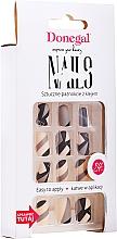 Духи, Парфюмерия, косметика Набор искусственных ногтей с клеем, 3074 - Donegal Express Your Beauty