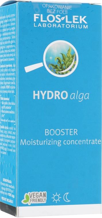 Концентрат для лица увлажняющий - Floslek Hydro Alga Booster — фото N1
