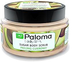 "Духи, Парфюмерия, косметика Сахарный скраб для тела ""Энергия и питание"" - Paloma Body SPA Sugar Body Scrub"