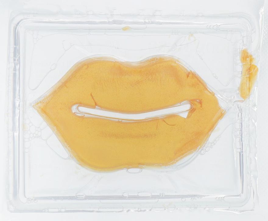 Увлажняющая гидрогелевая маска-патч для губ с коллагеном - King Rose Anti Wrinkle And Moisturizing 24K Gold Collagen Lip Mask