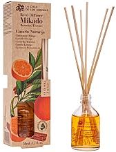 "Духи, Парфюмерия, косметика Аромадиффузор ""Апельсин и корица"" - La Casa de los Aromas Mikado Botanical Reed Diffuser Cinnamon Orange"