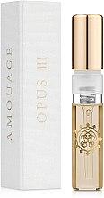 Духи, Парфюмерия, косметика Amouage The Library Collection Opus III - Парфюмированная вода (пробник)