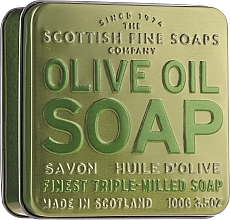 "Парфумерія, косметика Мило ""Оливкова олія"" - Scottish Fine Soaps Olive Oil Soap In A Tin"
