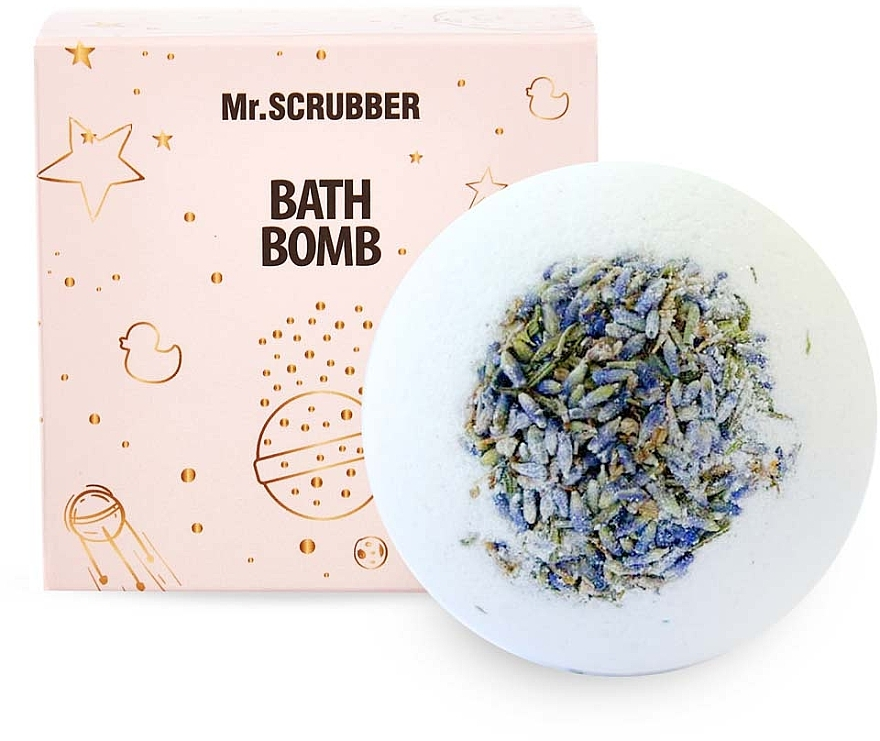 """Бомбочка для ванны """"Лаванда"""" в подарочной коробке - Mr.Scrubber"""
