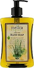 Духи, Парфюмерия, косметика Жидкое мыло с экстрактом алоэ - Melica Organic Aloe Vera Liquid Soap