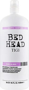 Шампунь для блондинок - Tigi Bed Head Dumb Blonde