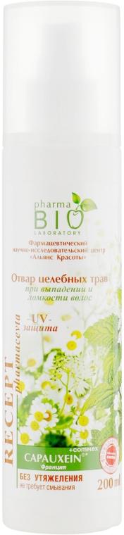 Отвар целебных трав при выпадении и ломкости волос - Pharma Bio Laboratory