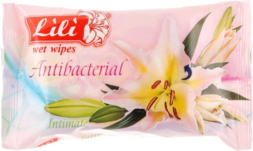 Влажные салфетки для интимной гигиены, 20 шт. - Lili Intimate Wet Wipes