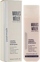 Духи, Парфюмерия, косметика Витаминный шампунь для волос - Marlies Moller Pashmisilk Vitality Vitamin Shampoo