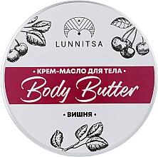 """Духи, Парфюмерия, косметика Баттер """"Шоколад с вишней"""" - Lunnitsa Chocolate & Cherry Body Butter"""