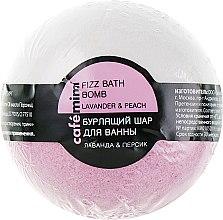 "Духи, Парфюмерия, косметика Бурлящий шар для ванны ""Лаванда и персик"" - Cafe Mimi Bubble Ball Bath"