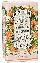 """Духи, Парфюмерия, косметика Экстра-нежное растительное мыло """"Герань"""" - Panier Des Sens Rose Geranium Extra-gentle Vegetable Soap"""
