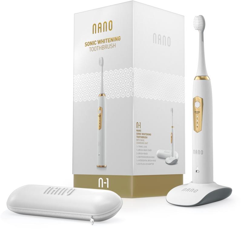 Электрическая звуковая зубная щетка - WhiteWash Laboratories Nano Sonic Whitening