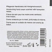 Крем для рук с ароматом дыни - LCN Honeydew Melon Hand Cream (пробник) — фото N2