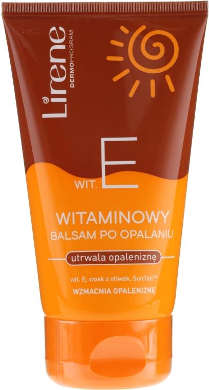 Витаминный бальзам сохраняющий загар - Lirene Tan Maximizer After Sun Balm