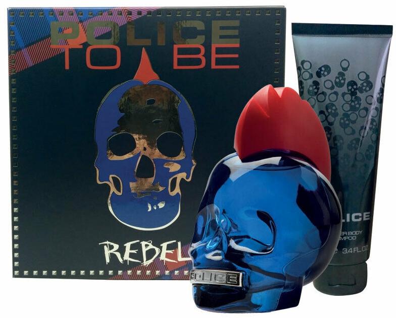 Police To Be Rebel - Набор (edt/75ml + sh/gel/100ml)