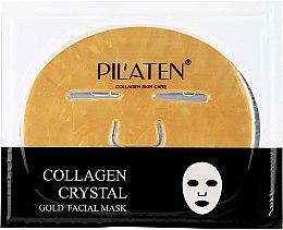 Духи, Парфюмерия, косметика Маска для лица с коллагеном - Pilaten Collagen Crystal Gold Facial Mask