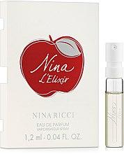Духи, Парфюмерия, косметика Nina Ricci L`Elixir - Парфюмированная вода (пробник)