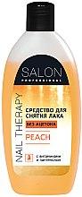 "Духи, Парфюмерия, косметика Средство для снятия лака ""Персик"" - Salon Professional Nail Therapy Peach"