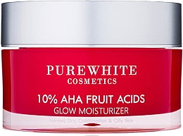 Духи, Парфюмерия, косметика Увлажняющий крем - Pure White Cosmetics 10% AHA Fruit Acids Glow Moisturizer