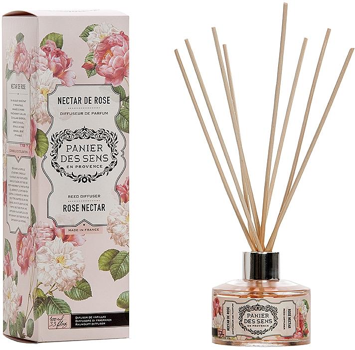 "Диффузор ароматический ""Роза"" - Panier Des Sens Rose Nectar Reed Diffuser"