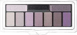 Духи, Парфюмерия, косметика Палетка теней для век - Catrice The Edgy Lilac Collection Eyeshadow Palette (тестер)