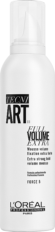 Мусс для объема суперсильной фиксации - L'Oreal Professionnel Tecni.art Full Volume Extra