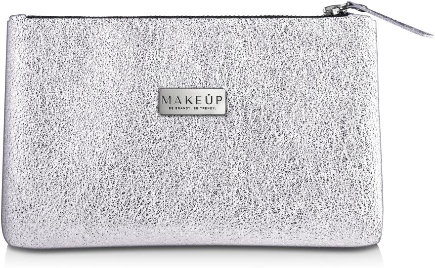 "Косметичка серебро ""Silver Glow"" - Makeup"