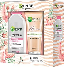 Духи, Парфюмерия, косметика Набор - Garnier Skin Naturals (bb/cr/50ml + micellar/125ml)