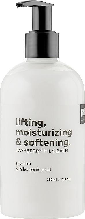 Подтягивающее бальзам-молочко для тела с эффектом гидратации - Luff Lifting, Moisturizing & Softening Raspberry Milk-balm