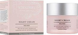 "Духи, Парфюмерия, косметика Ночной увлажняющий крем ""Дикая роза"" - Stenders Night Cream Wild Rose"