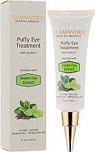 Духи, Парфюмерия, косметика Крем для лечение отеков под глазами с экстрактом зеленого чая - Seamantika Puffy Eye Treatment Green Tea Extract