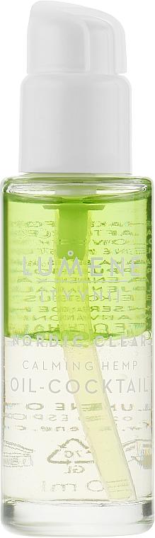 Успокаивающая сыворотка с маслом семян северной конопли - Lumene Nordic Clear Calming Hemp Oil-Cocktail