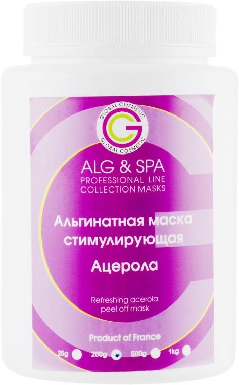 Альгинатная маска стимулирующая с ацеролой - ALG & SPA Professional Line Collection Masks Refreshing Acerola Peel off Mask