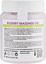 Крем-масло для массажа с черникой - Biotonale Bilberry Massage Gel — фото N4
