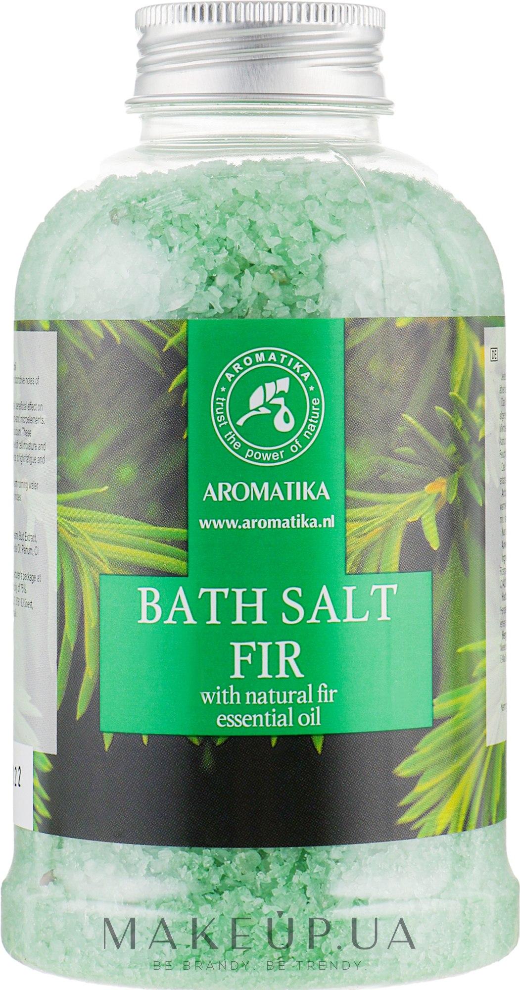 Соль морская для ванн «Пихта» - Aromatika Bath Salt Fir Needle  — фото 600g