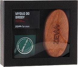 Духи, Парфюмерия, косметика Набор - Zew For Men Set (brush+oil/30ml+soap/85g)