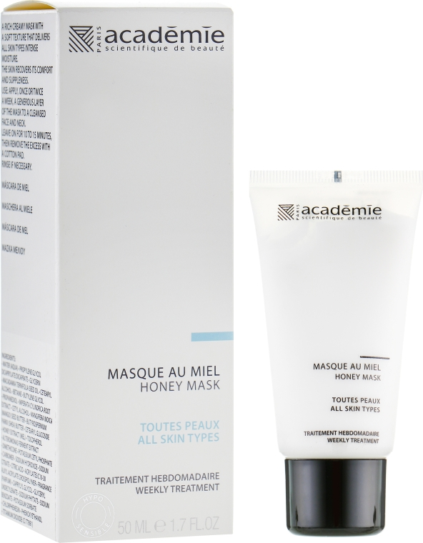 Медовая маска для лица - Academie Hypo-Sensible Honey Mask