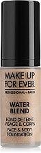 Духи, Парфюмерия, косметика Тональная основа - Make Up For Ever Water Blend Foundation (тестер)